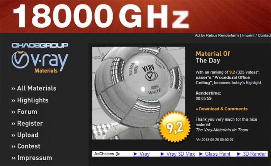 VWArtclub - Free V-Ray Materials
