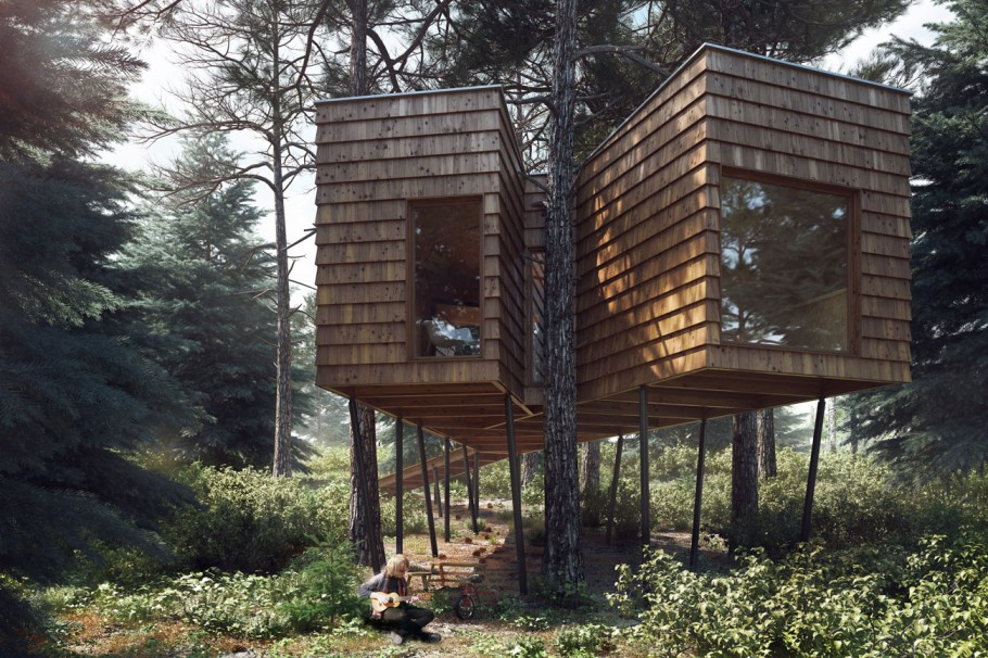 Branch Tree House