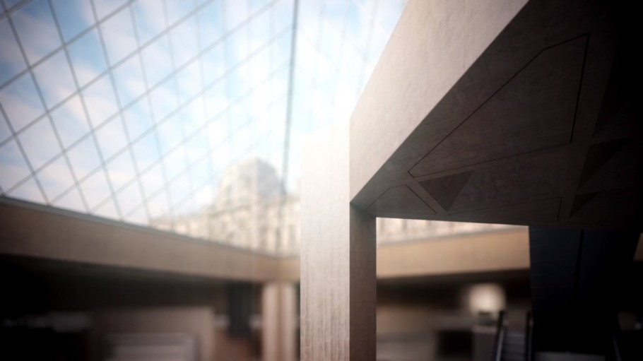 Louvre Architectural Film