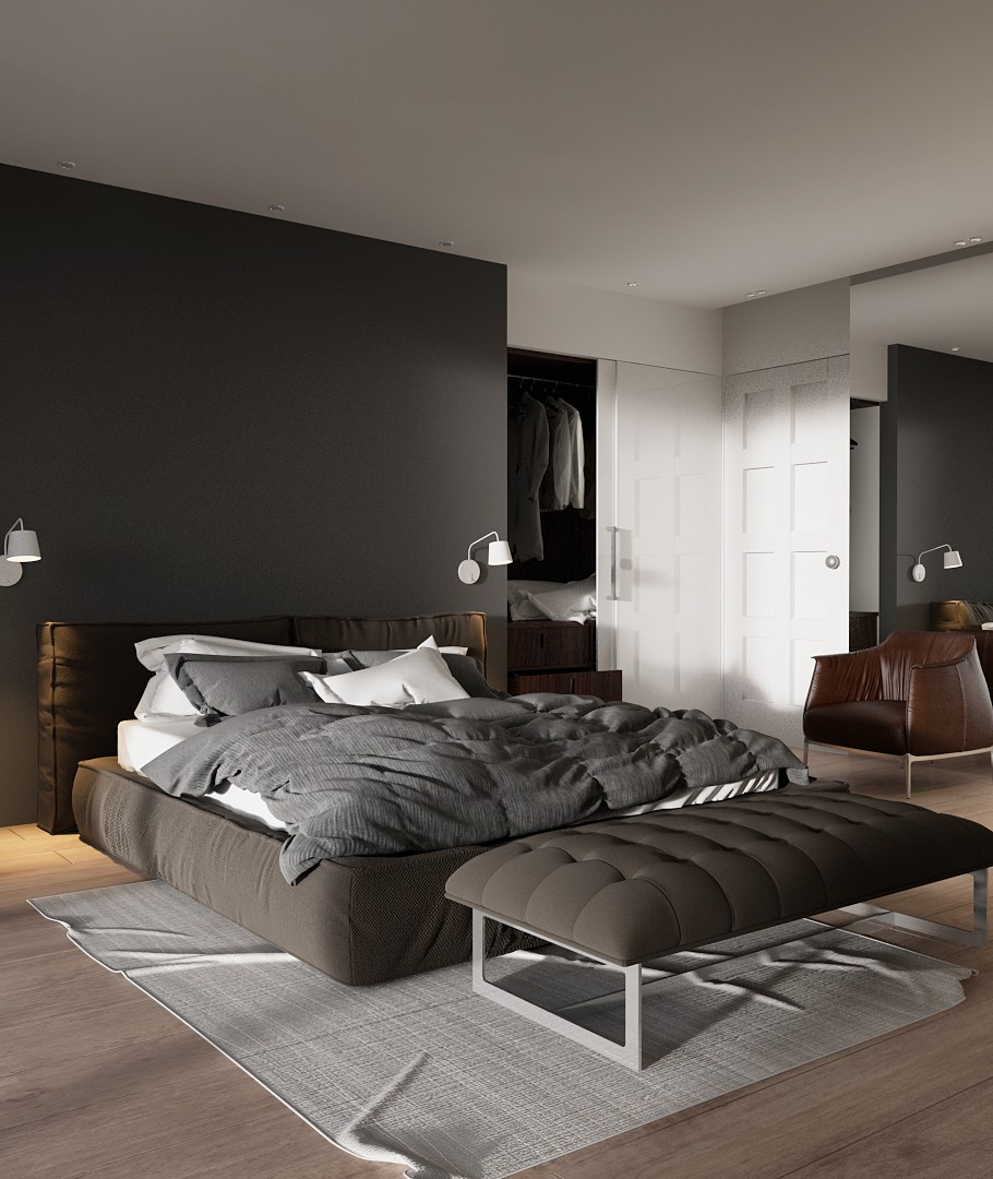 Hints of Master Bedroom
