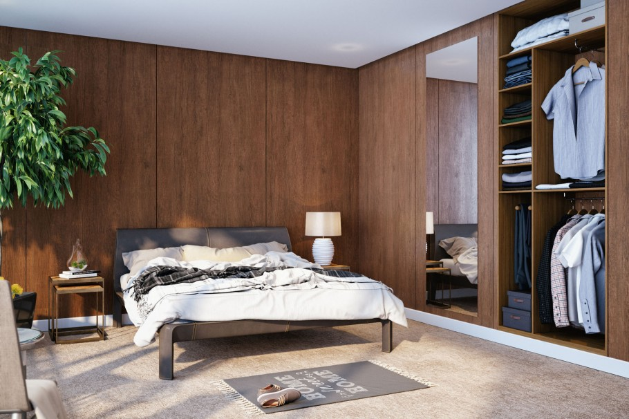 Bedroom For Apartment