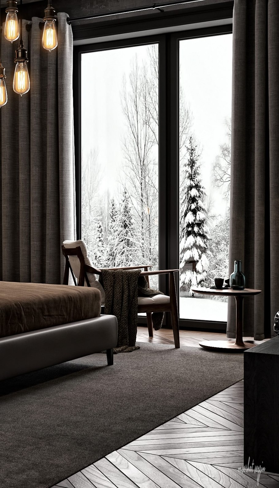 Mountain House Bedroom
