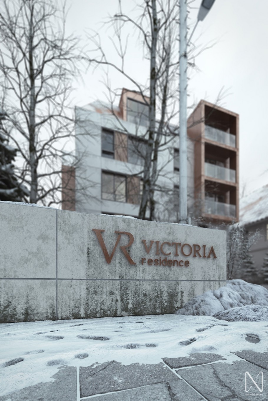 Victoria Residence Winter