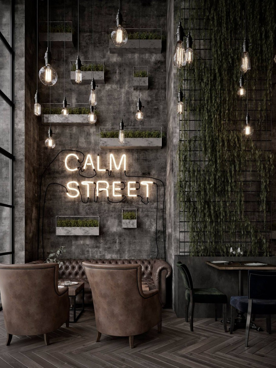 Qatar Calm Street Cafe