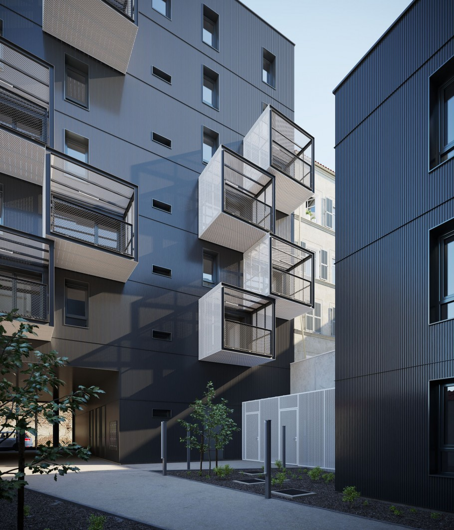 Social housing - Paris