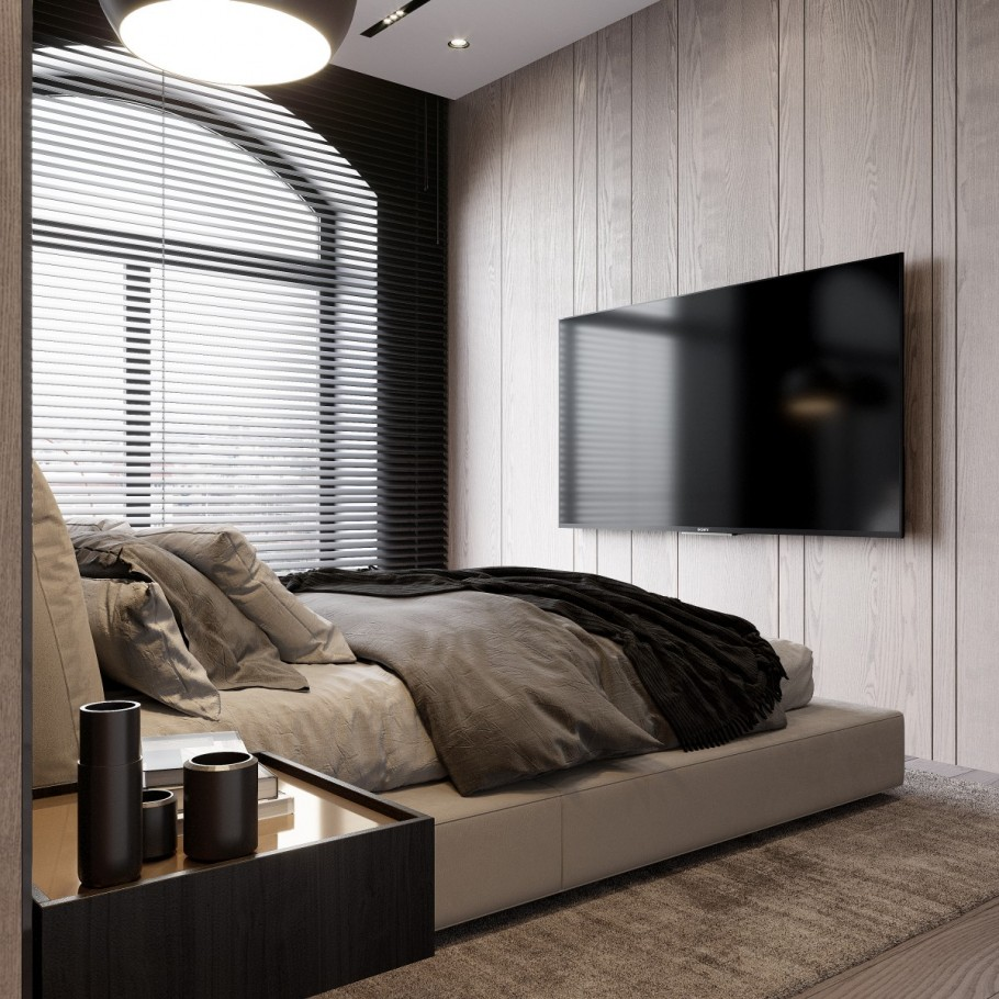 Black Wood Bedroom