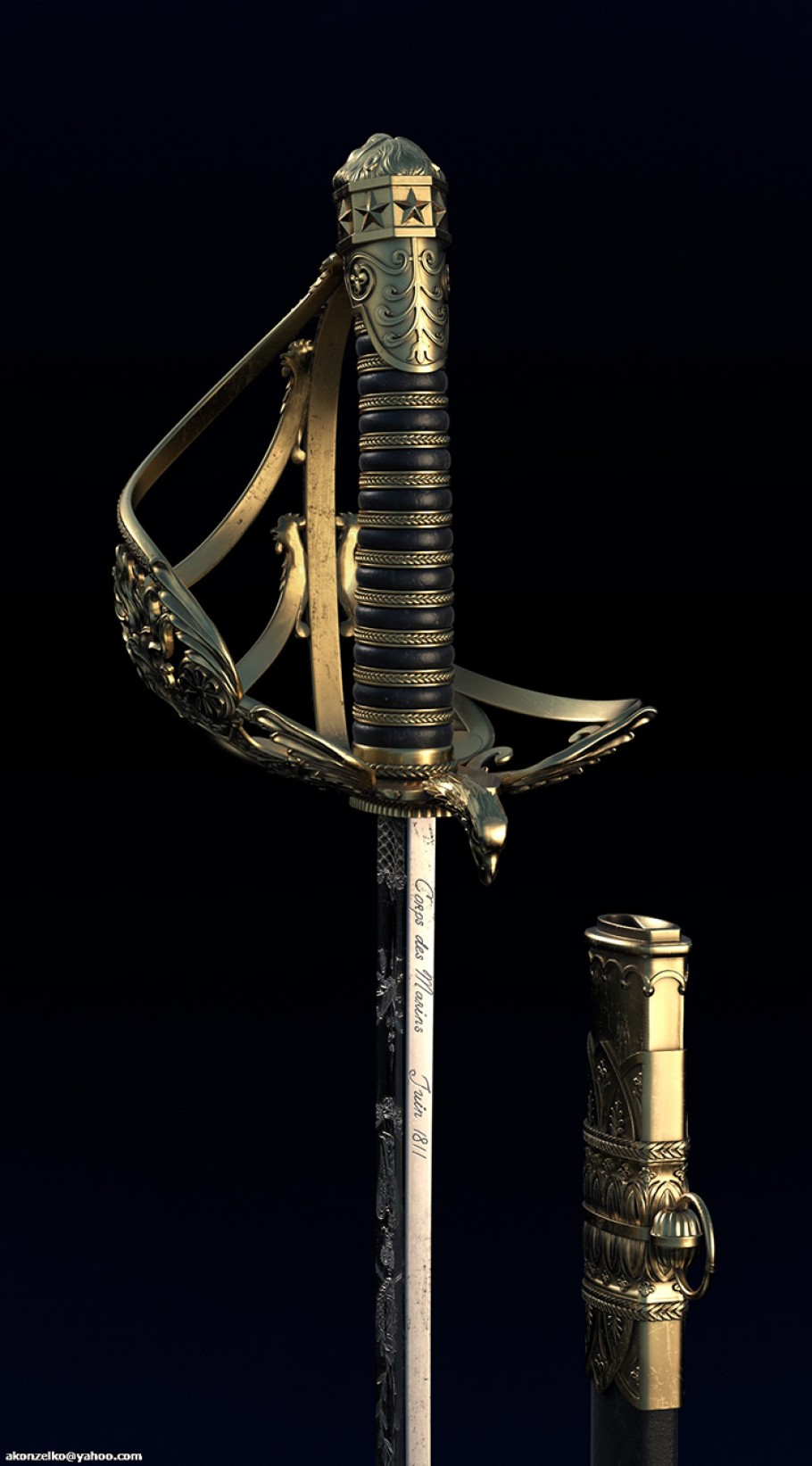 French sword