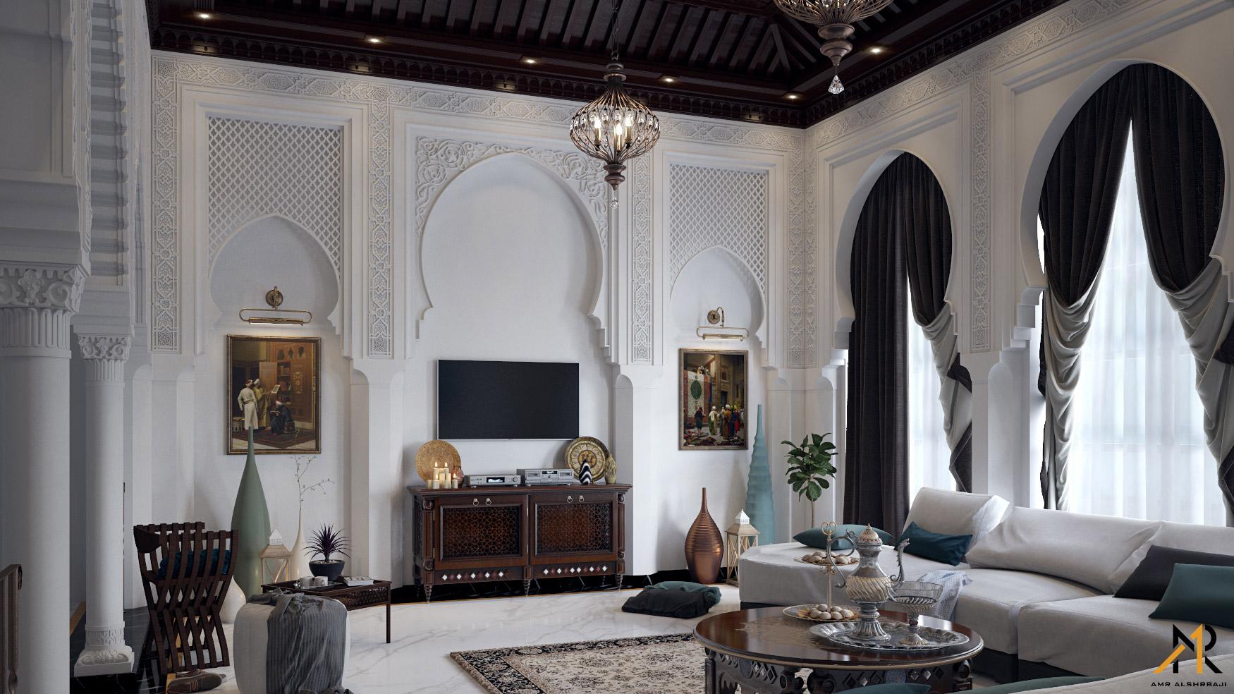 arabian style living room - HD1750×984
