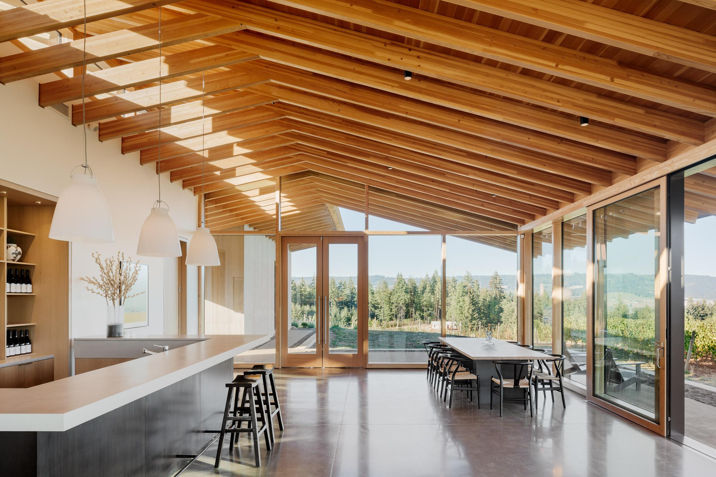 Wood Family Winery Tasting Room