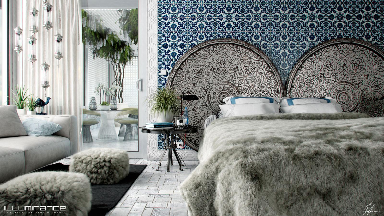 Vwartclub classical arabic design - Contemporary style interior design ...
