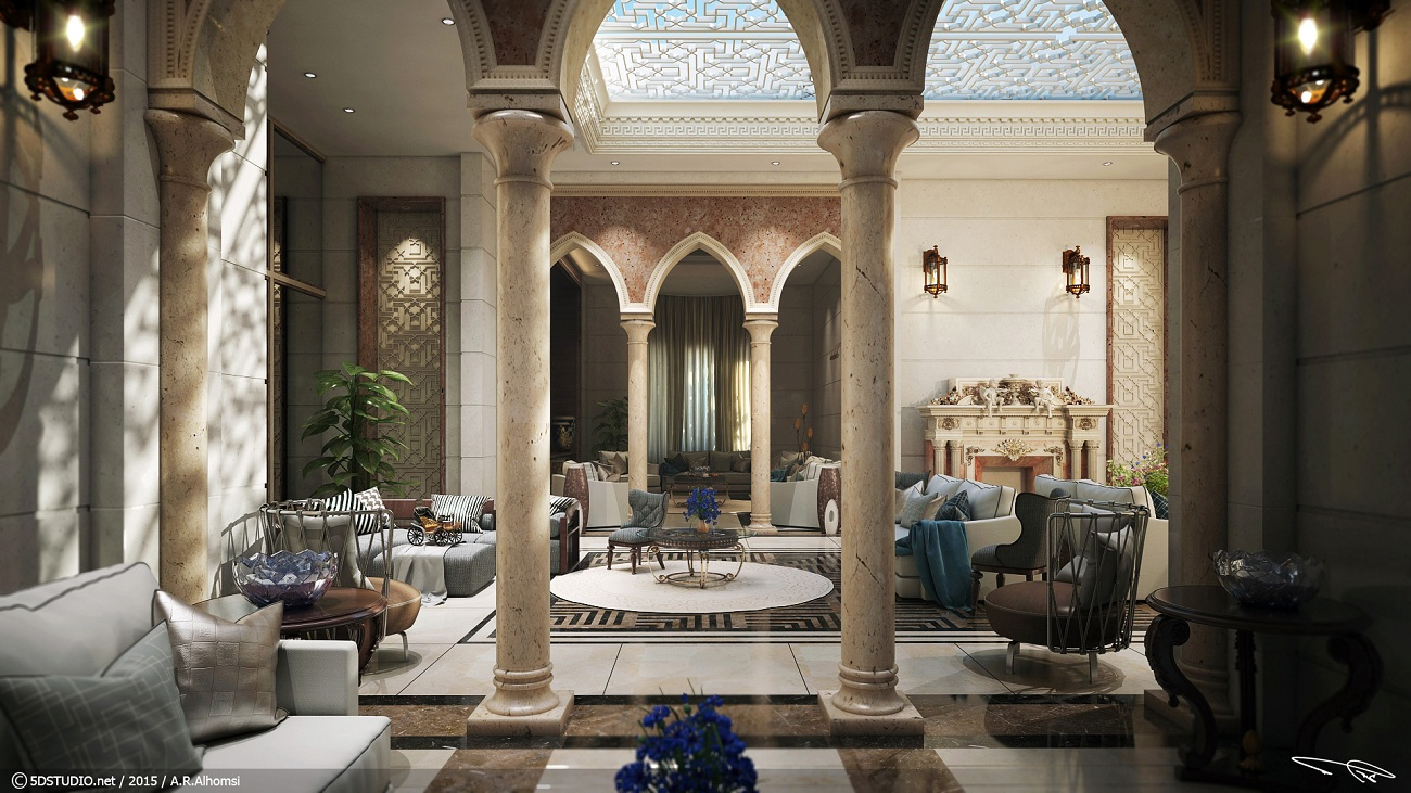 Vwartclub classical arabic design - Images interior design ...