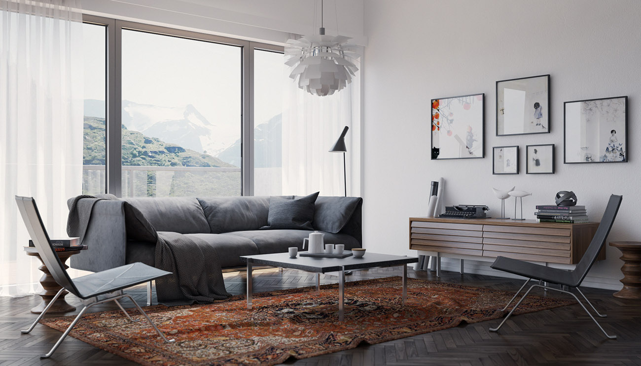 Vwartclub scandinavian interior for 3d interior design online