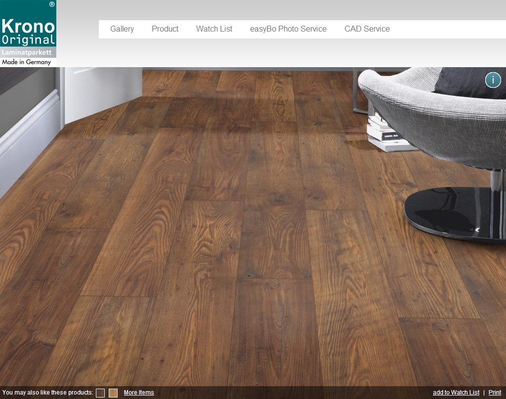 Vwartclub Krono Original 3d Wooden Floor