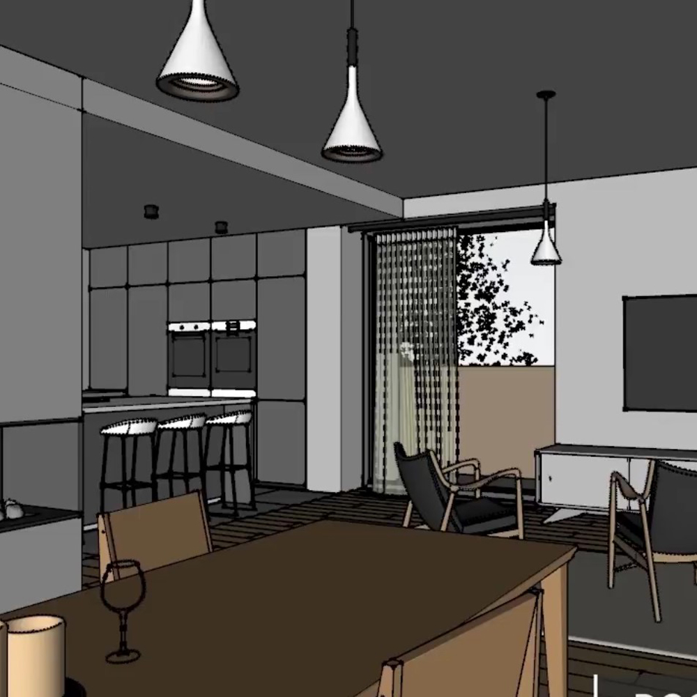 VWArtclub - V-Ray SketchUp Interior Lighting