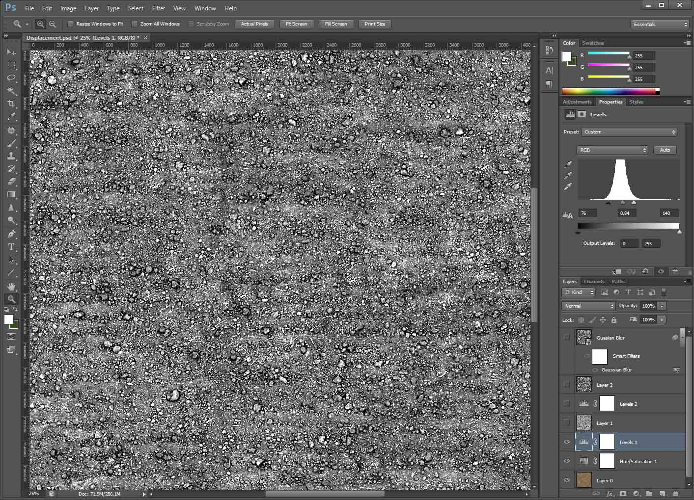 VWArtclub - Displacement Map In Photoshop on