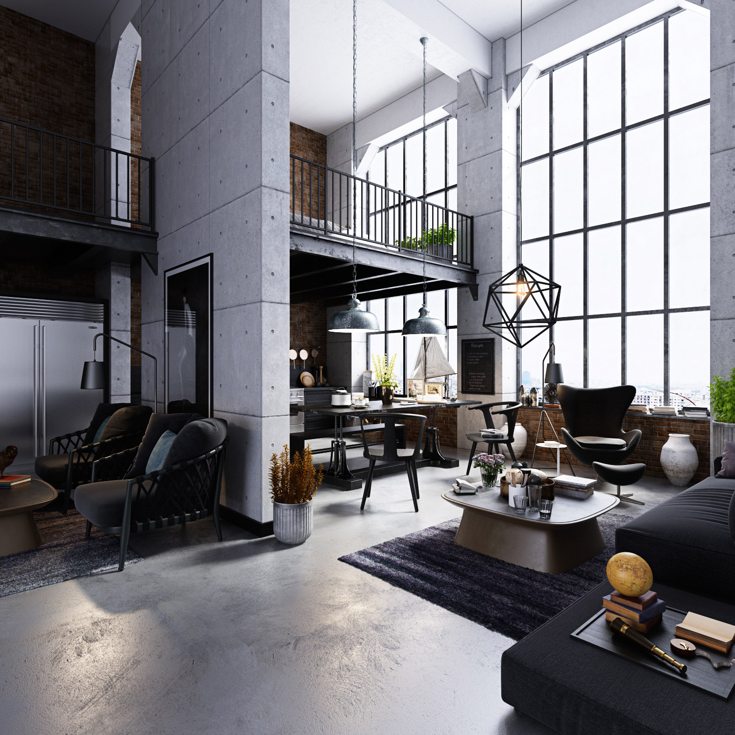 Loft Apartments: Studio Loft Apartment