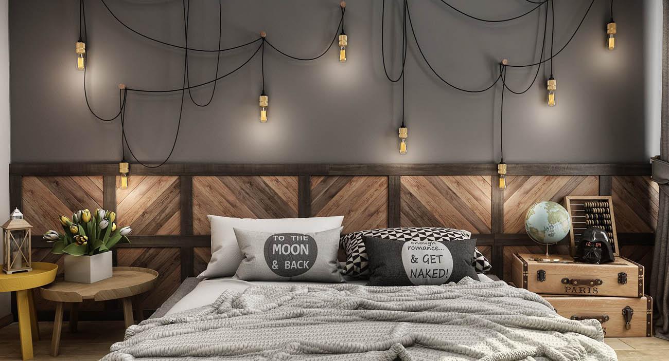 VWArtclub - Modern Vintage Bedroom