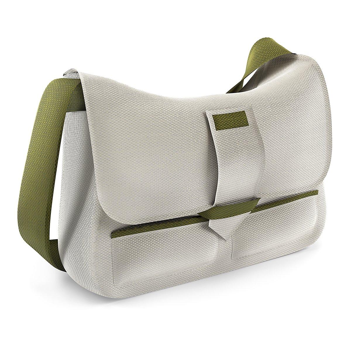 VWArtclub - White Messenger Bag